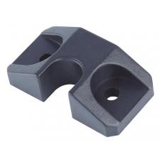 Stabdis centriniui užraktui plast.,juodas