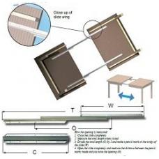 Stalo išplėtimo mechanizmas 1050/740/550 mm