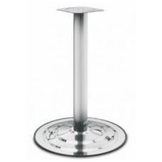 Stalo koja-bazė D.76x735 mm, bazė D.495 mm, chromas