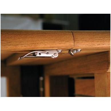 Stalo kablinė sąvarža,žalvaris 2