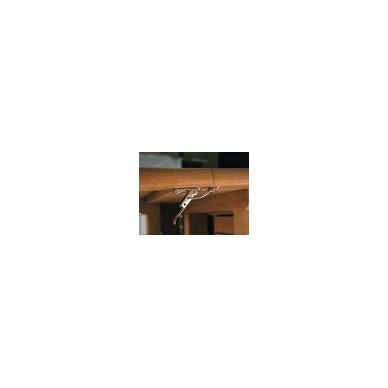 Stalo kablinė sąvarža,žalvaris 4