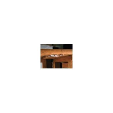 Stalo kablinė sąvarža,žalvaris 5