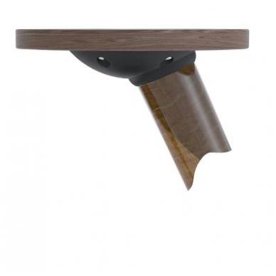 """Stalo kojos jungtis \Twister\"""" D.107x27 mm, juoda, su kampo reguliavimo funkcija"""" 6"""