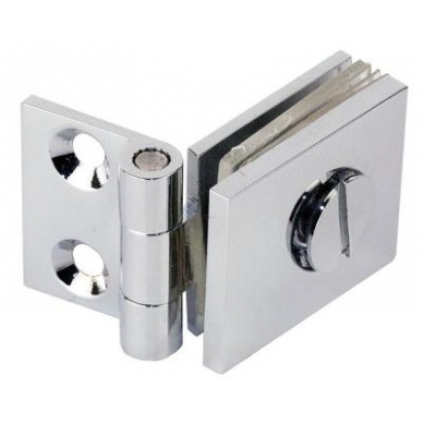 "Stiklo durų lankstas ""Bosch"" 25x30mm 2"