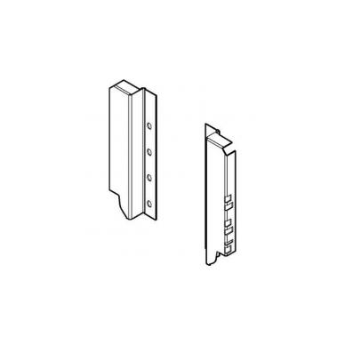 TANDEMBOX nugarėlės laikiklis D, BALTAS (kairė+dešinė)