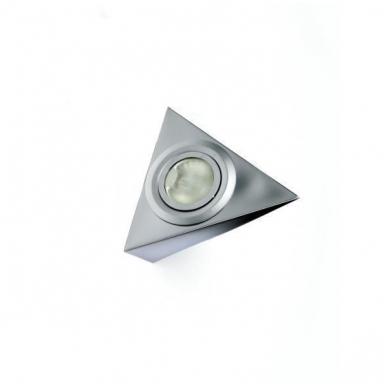 Trikampis halogenas AIRON M be jungtuko, aliuminis