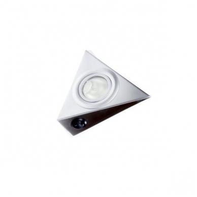 Trikampis halogenas AIRON M su jungtuku,aliuminis