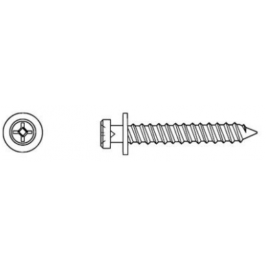 Varžtelis 5068 4 mm L-31,8 mm 2
