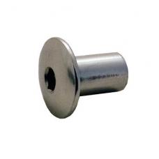 Veržlė D-595, Hex 5 mm, M8, D.20x3 mm/ D.10x16 mm