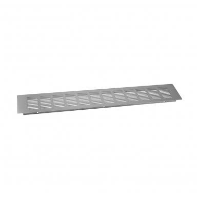 Ventiliacinės grotelės 500x80 mm, šlif.plienas