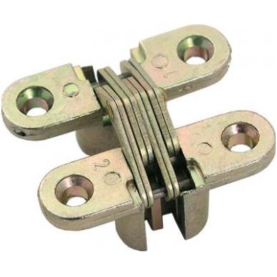 VICI lankstas 44x13mm,geltonas cinkas
