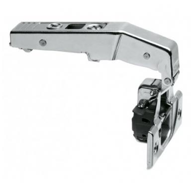 Vienos plokštumos 90' BLUM lankstas su integruotu slopintuvu + CLIP plokštelė EXPANDO 3mm