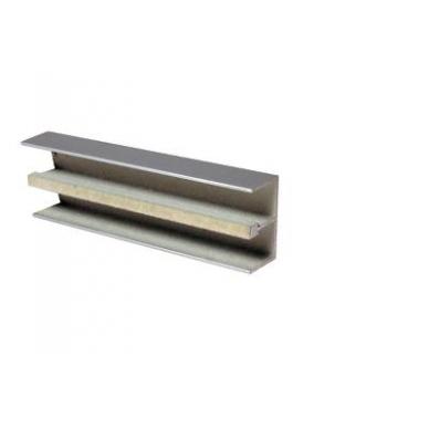 Viršutinis aliuminio bėgelis sistemai 2740, 2m